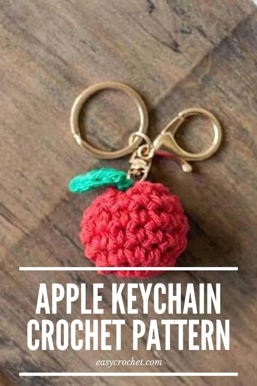 Crochet strawberry keychain toy handmade gift for girl gift | Etsy | 1500x1000