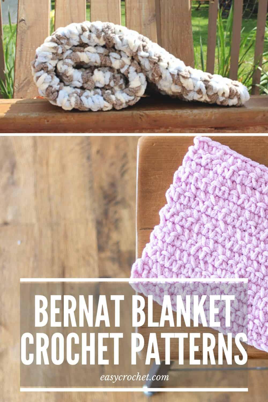 Bernat Blanket Yarn Blanket Patterns