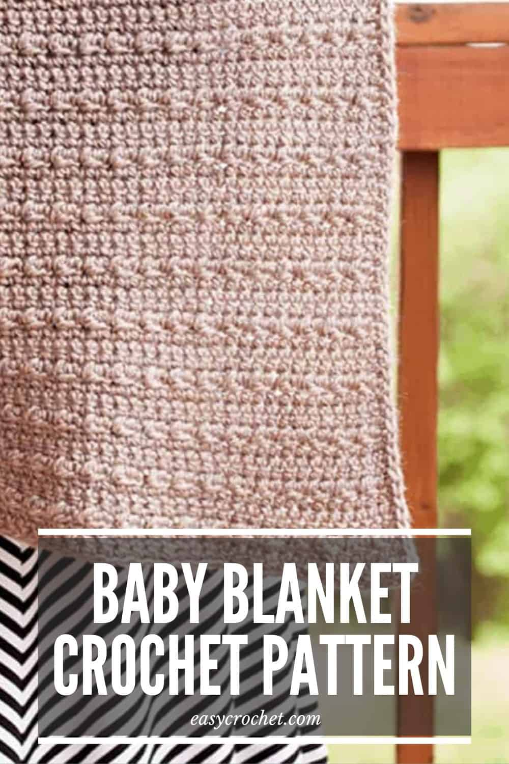 Baby Blanket Crochet Pattern Neutral