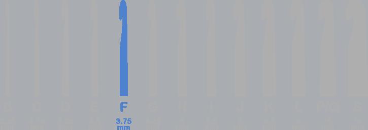 3.75 mm (F-5) Crochet Hooks