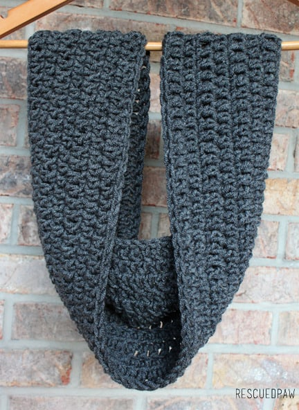 Extra Long Cowl Crochet Pattern