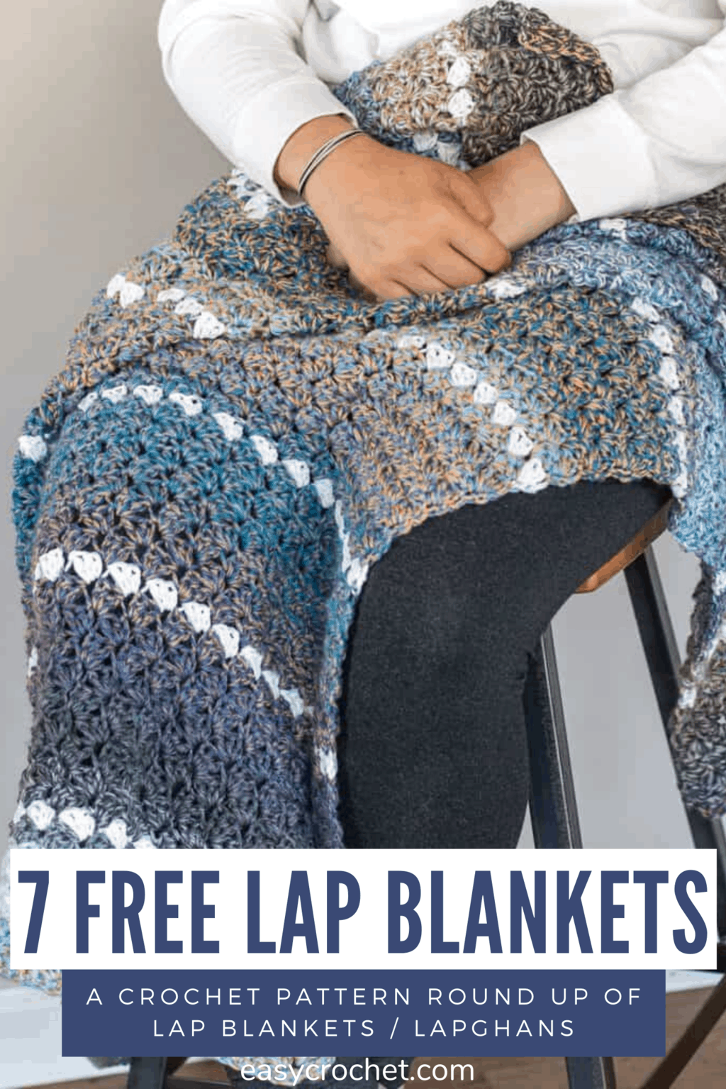 Seven Free Crochet Lap Lapghan Blanket Patterns