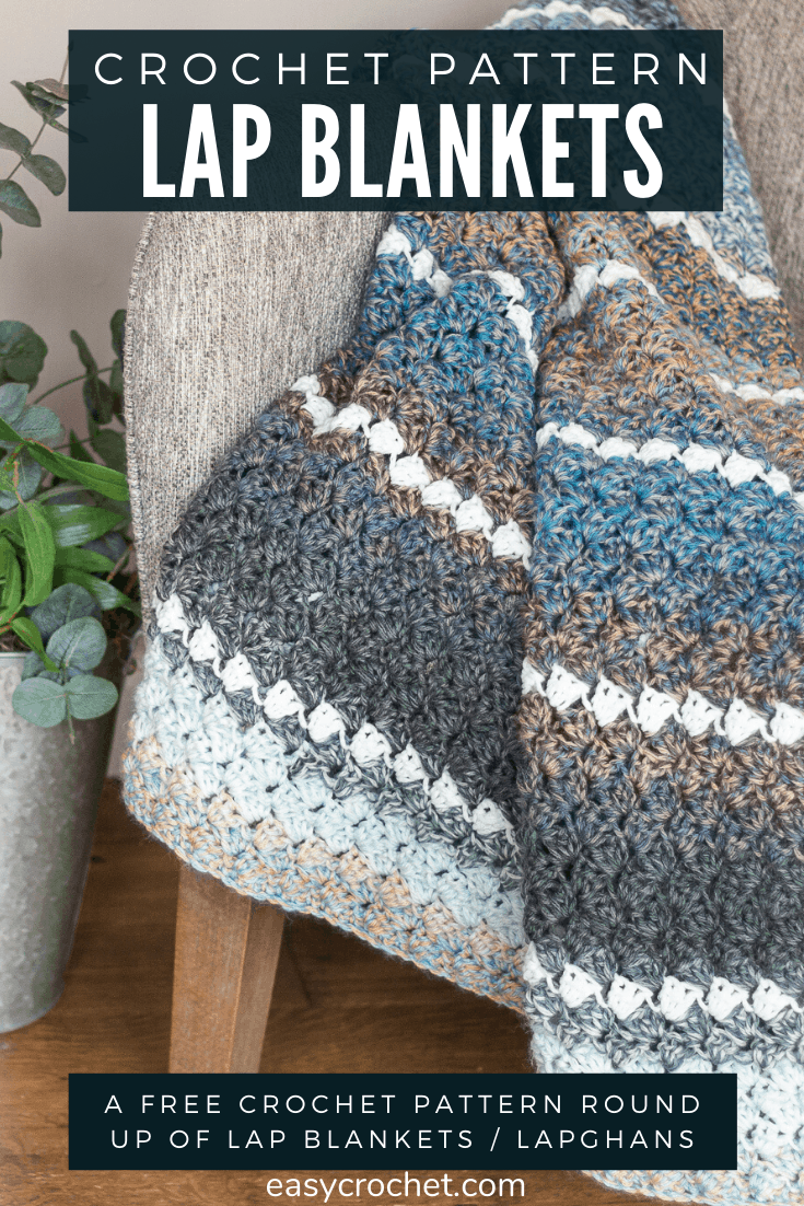 7 Free Crochet Lap Blanket Patterns via @easycrochetcom