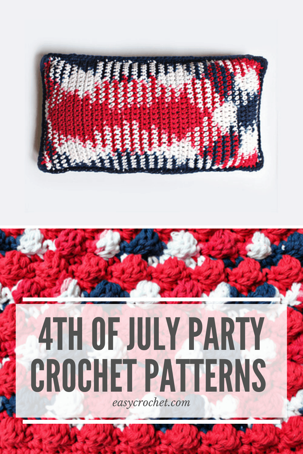 4th of July Party Crochet Patterns