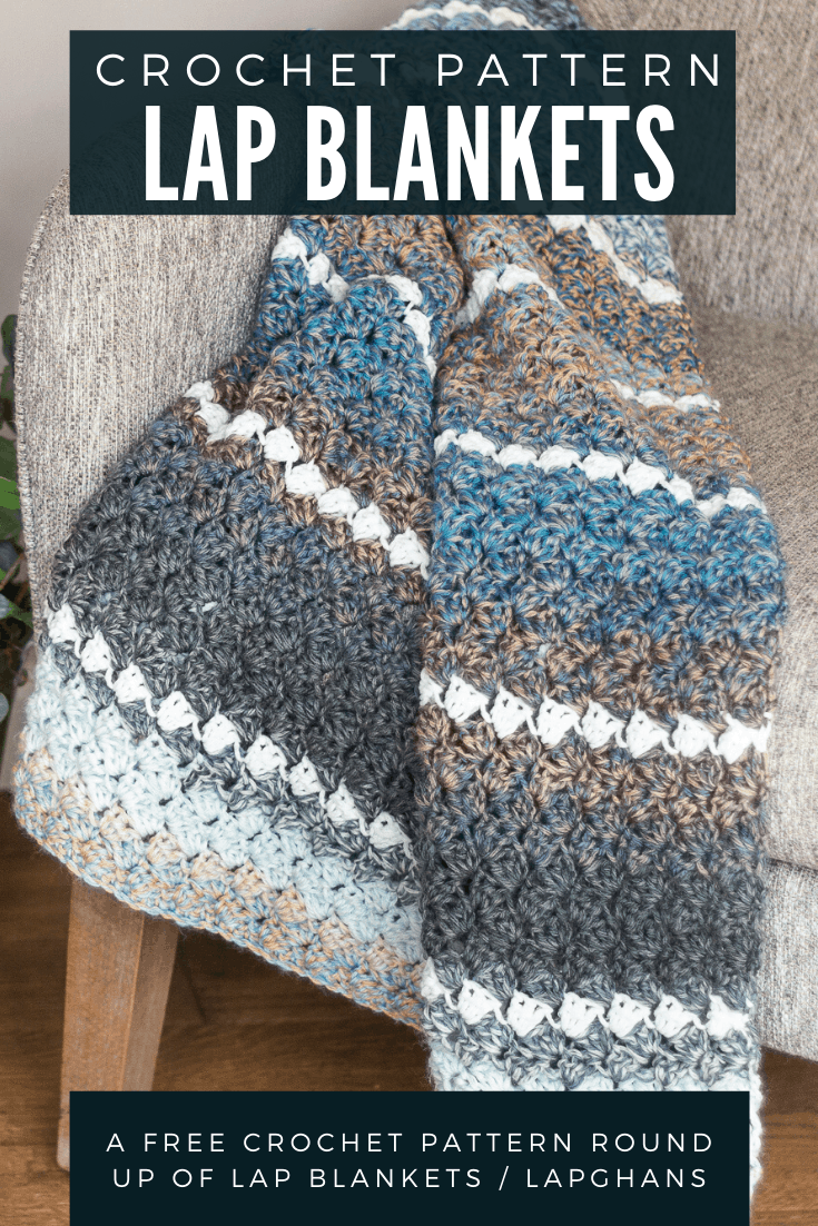 Crochet Lap Blanket Patterns via @easycrochetcom