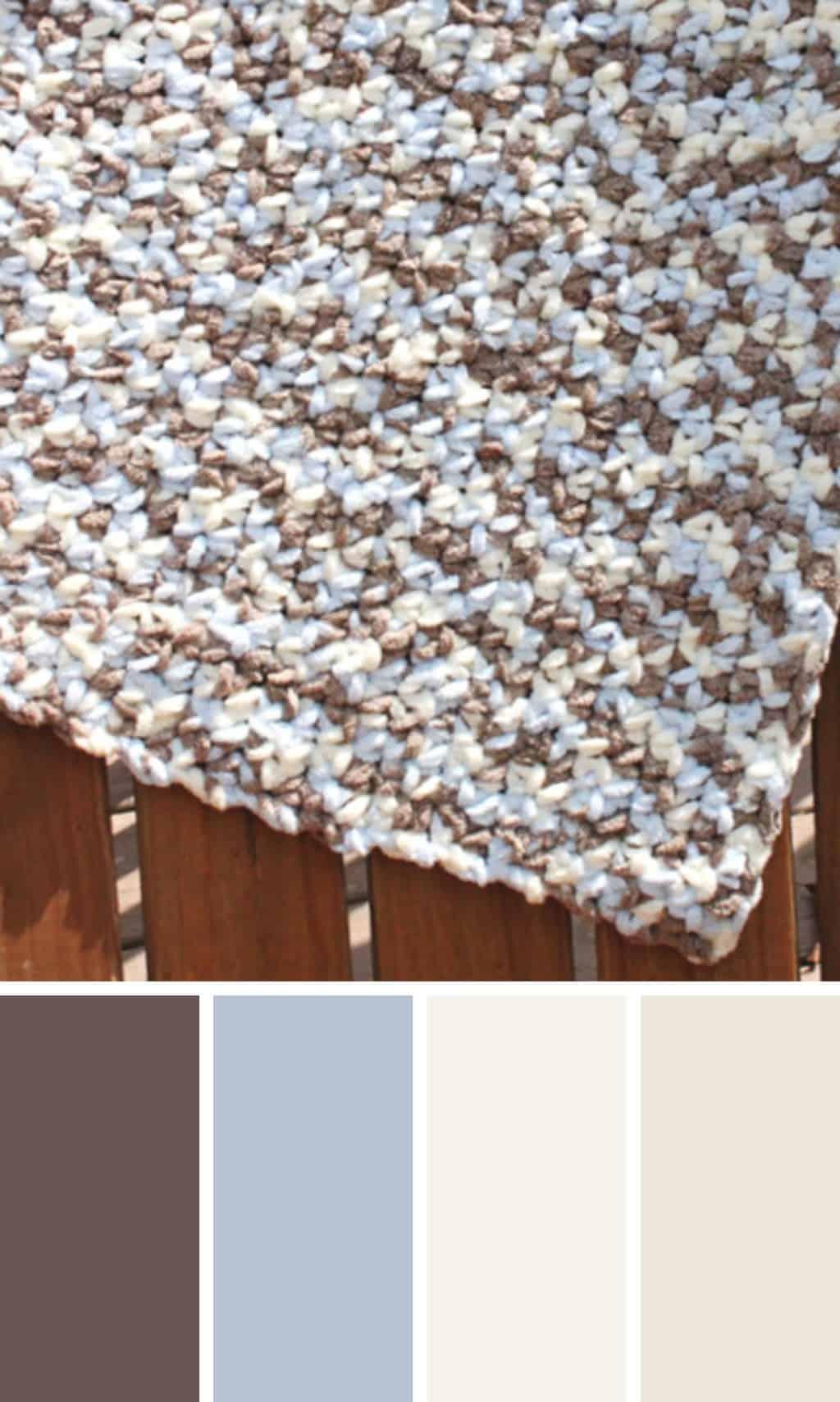 Bernat Baby Blanket Yarn Crochet Pattern
