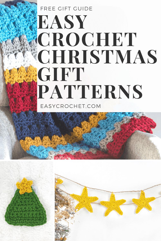 Crochet Christmas Patterns For Gifts Easycrochet Com