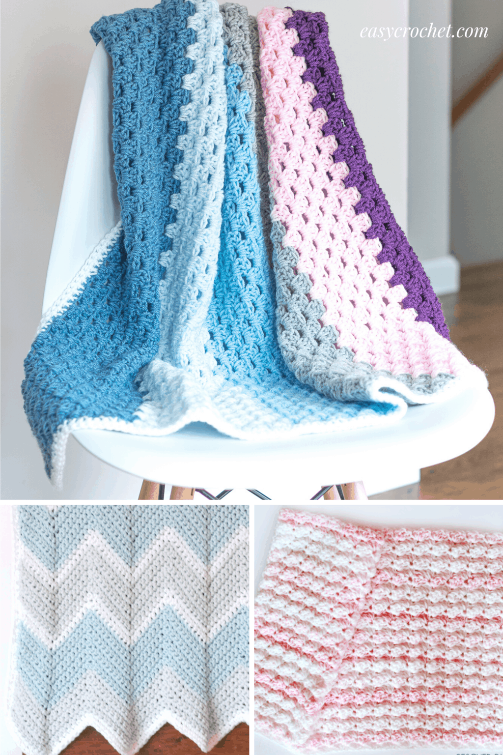 Easy Baby Blankets Free Crochet Patterns