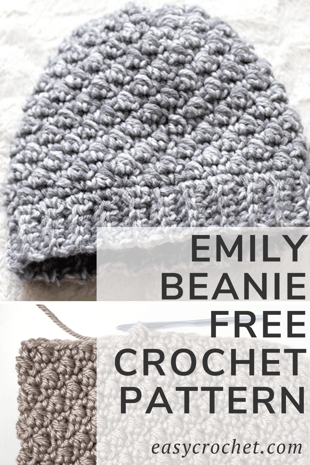 Easy Beanie Free Crochet Pattern