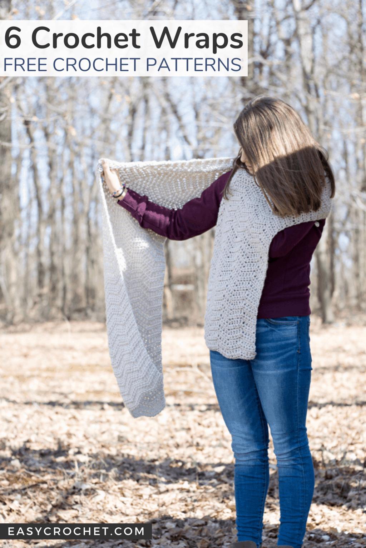 Free Crochet Wrap or Crochet Shawl Patterns