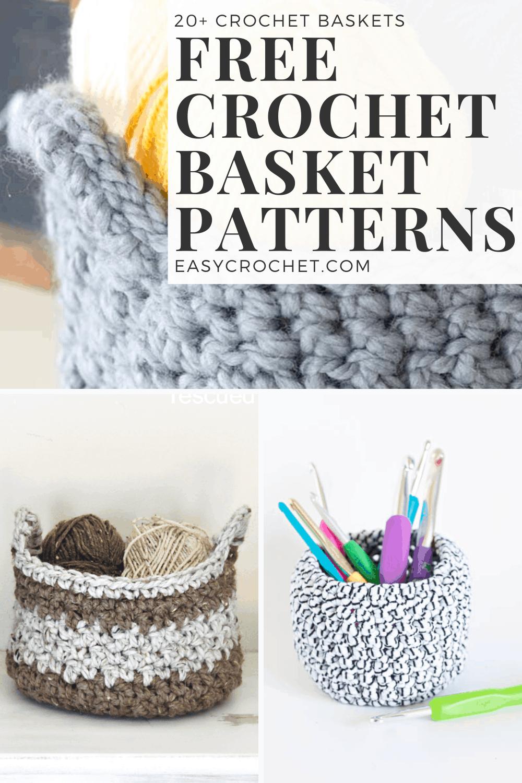 Simple Crochet Basket Patterns