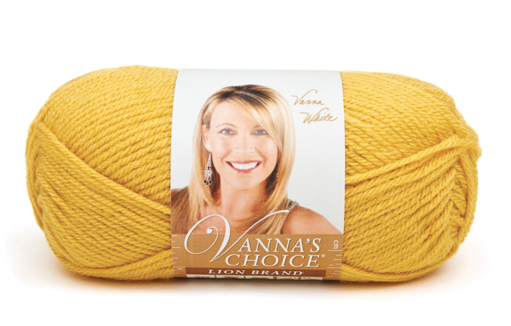 Vanna's Choice Yarn for a Star pattern
