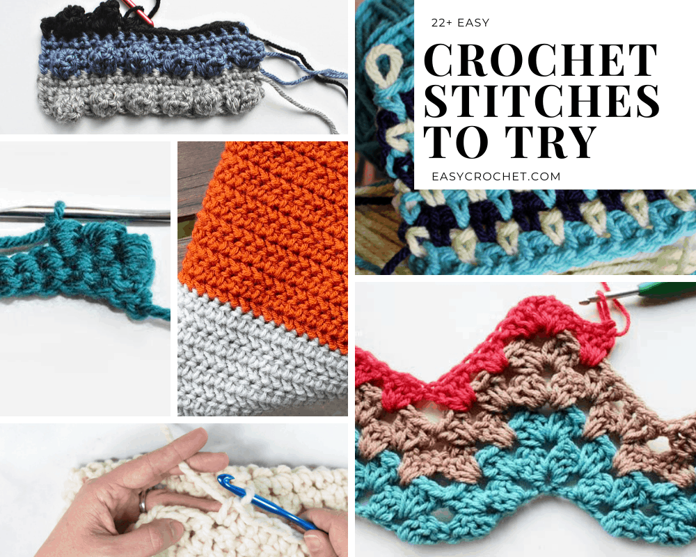 Crochet Stitches That are Easy