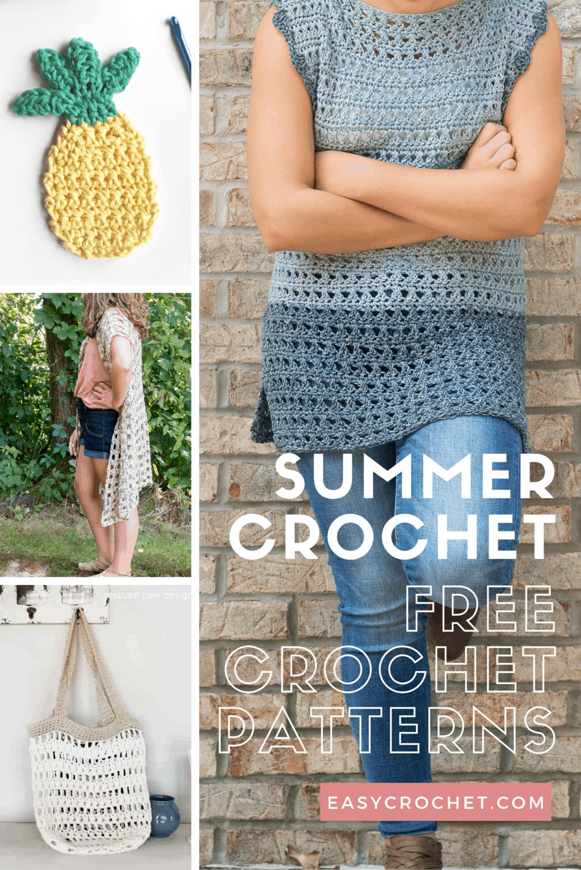 Free Crochet Summer Patterns