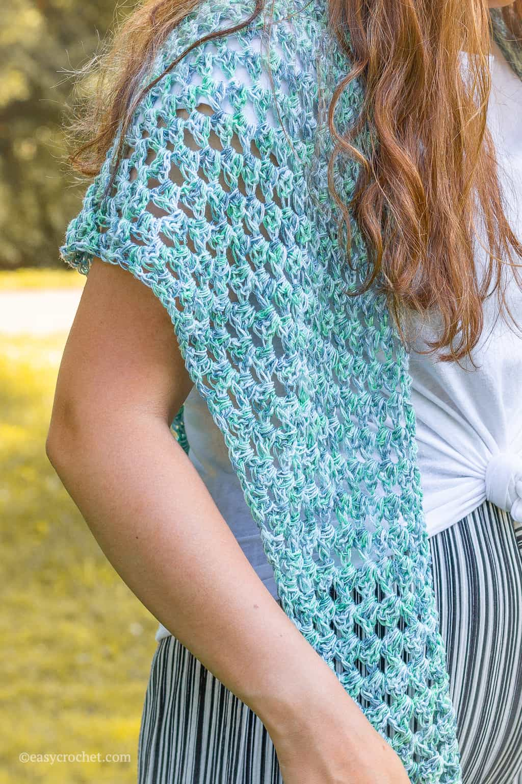 Crochet Summer Nights Shawl Pattern