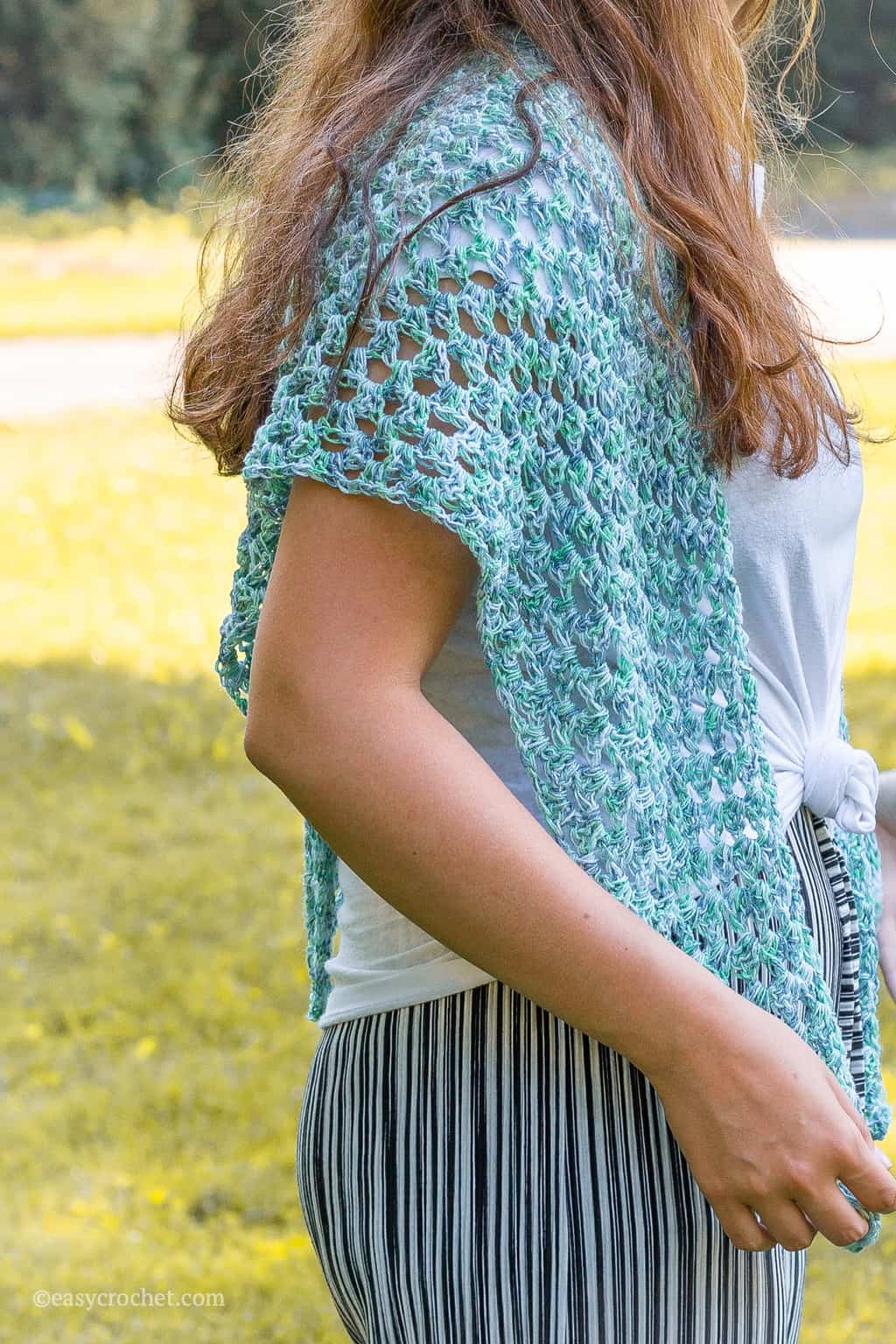 Shawl Crochet Pattern for Summer