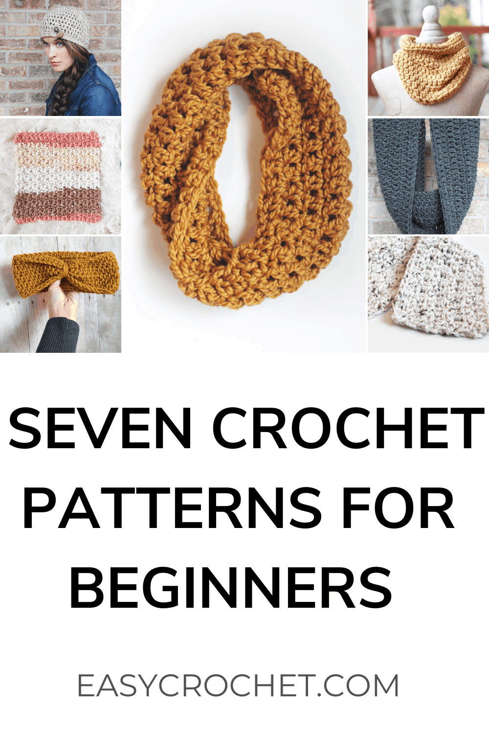 Free and Easy Crochet patterns for Beginners