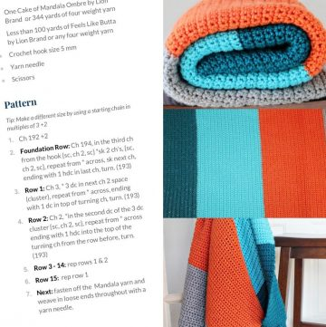 Reading crochet patterns explained
