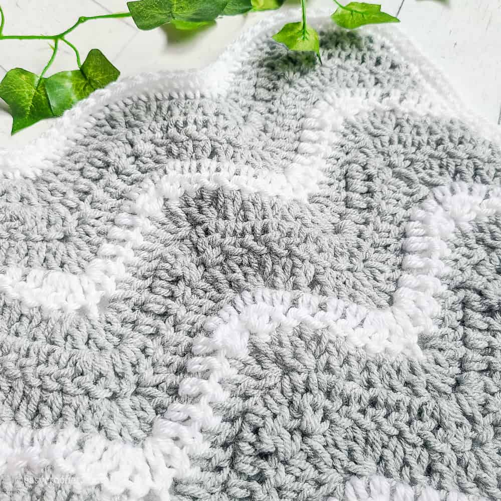 crochet lovey security blanket pattern