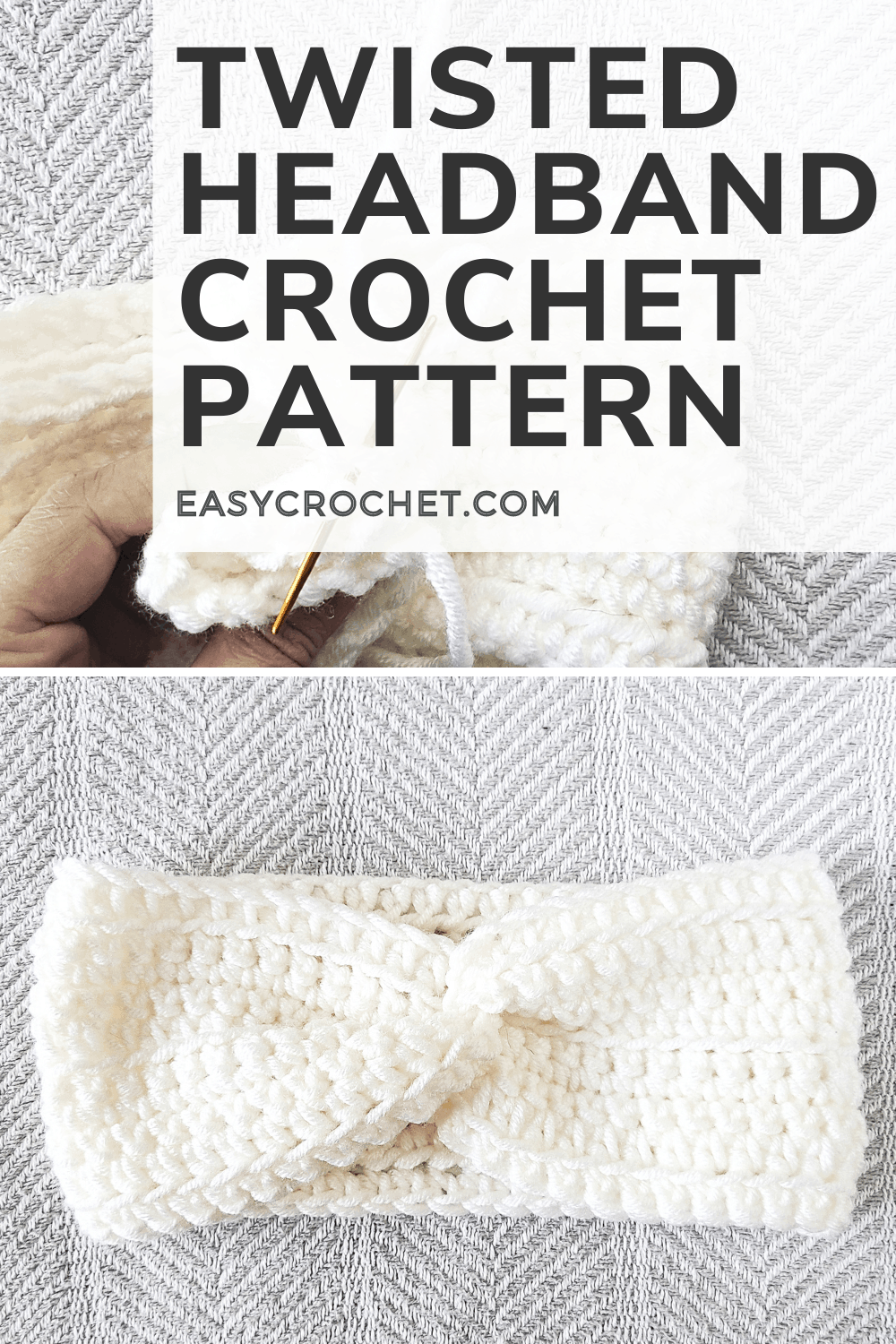 Twisted Headband Crochet Pattern