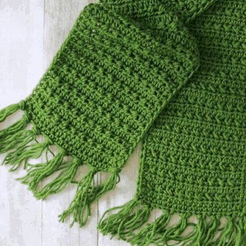 fringe fall free scarf