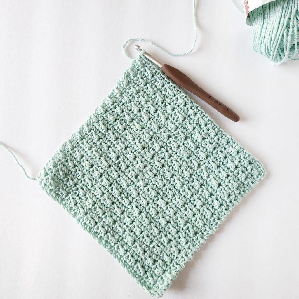 easy to crochet washcloth pattern