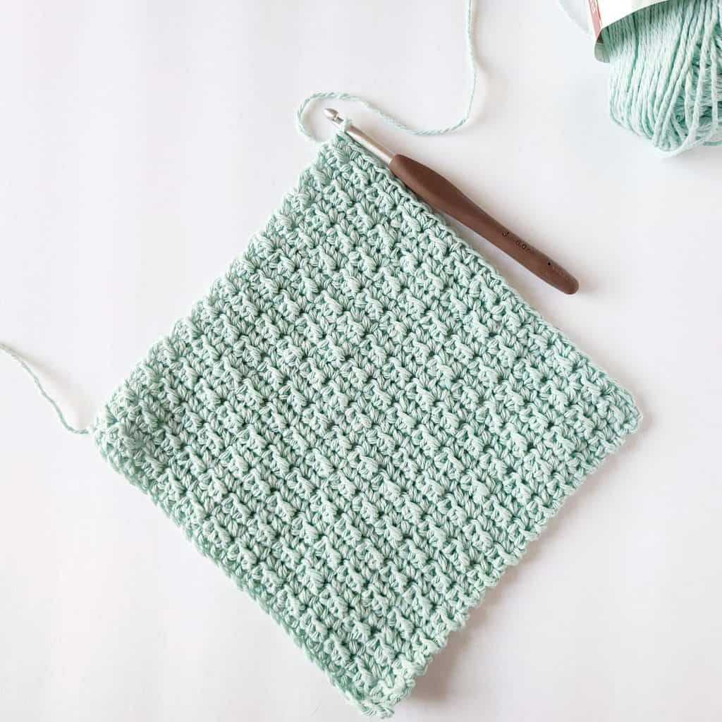 Beginner Crochet Washcloth Pattern Easycrochet Com