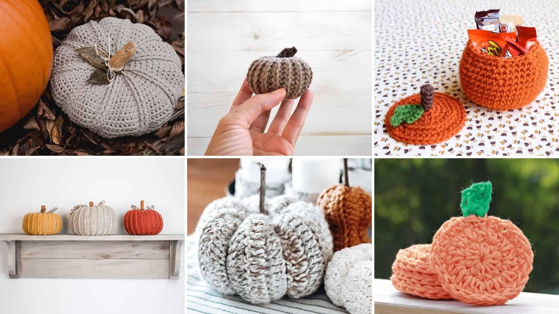Free Crochet Pumpkin Patterns Easycrochet Com