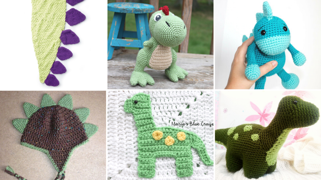 Free Crochet Dinosaur Patterns