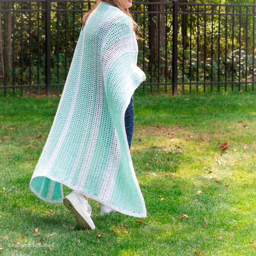 Double Crochet Blanket Pattern Free