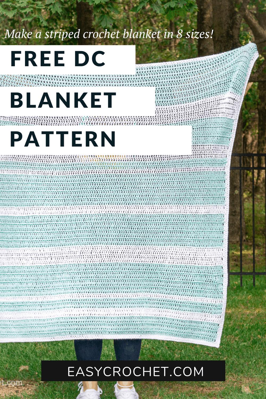 DC Stitch Blanket Pattern
