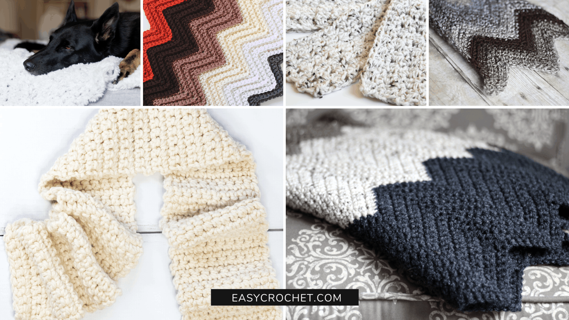 single crochet stitch patterns for beginners