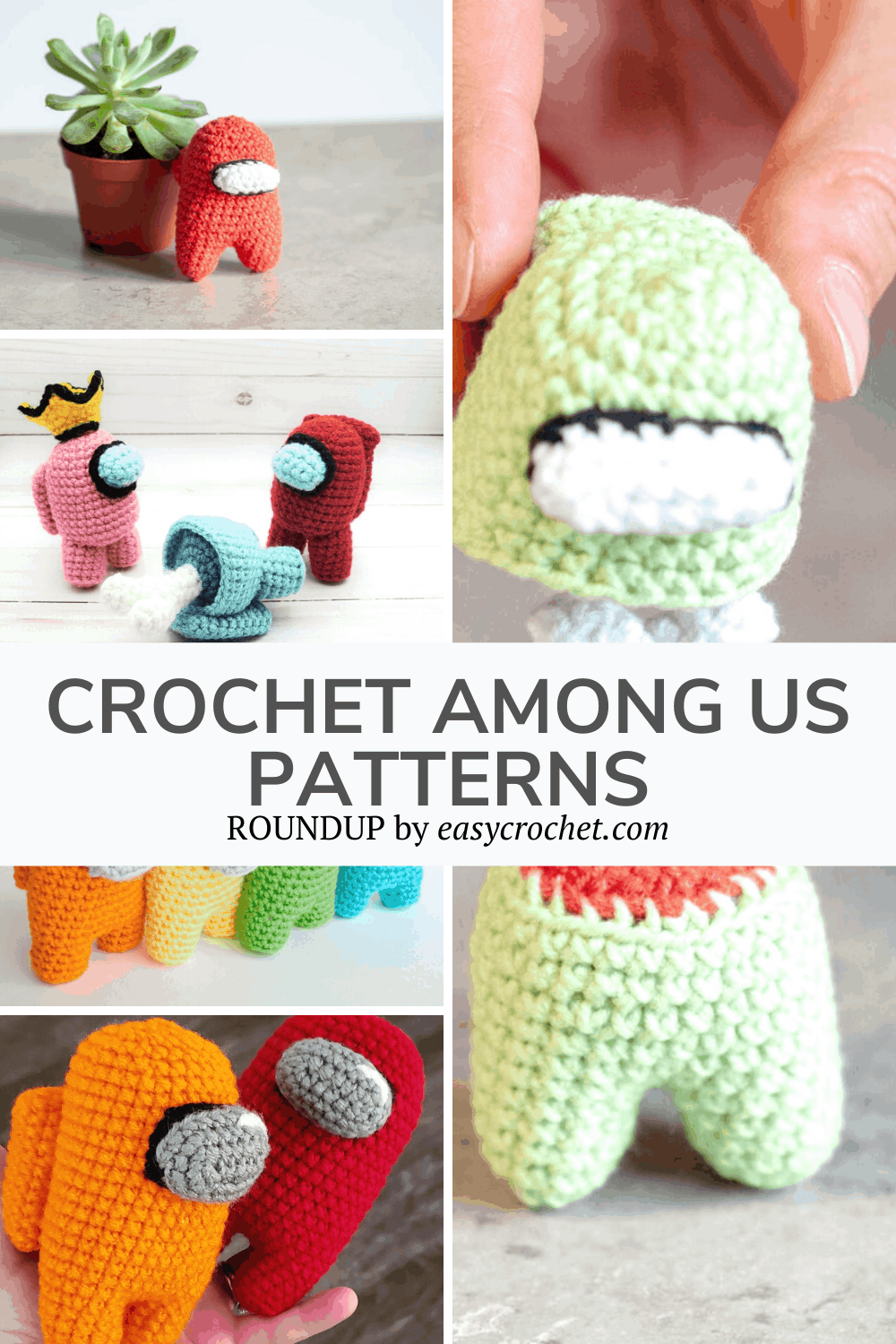 Crochet Patterns for Among Us Game