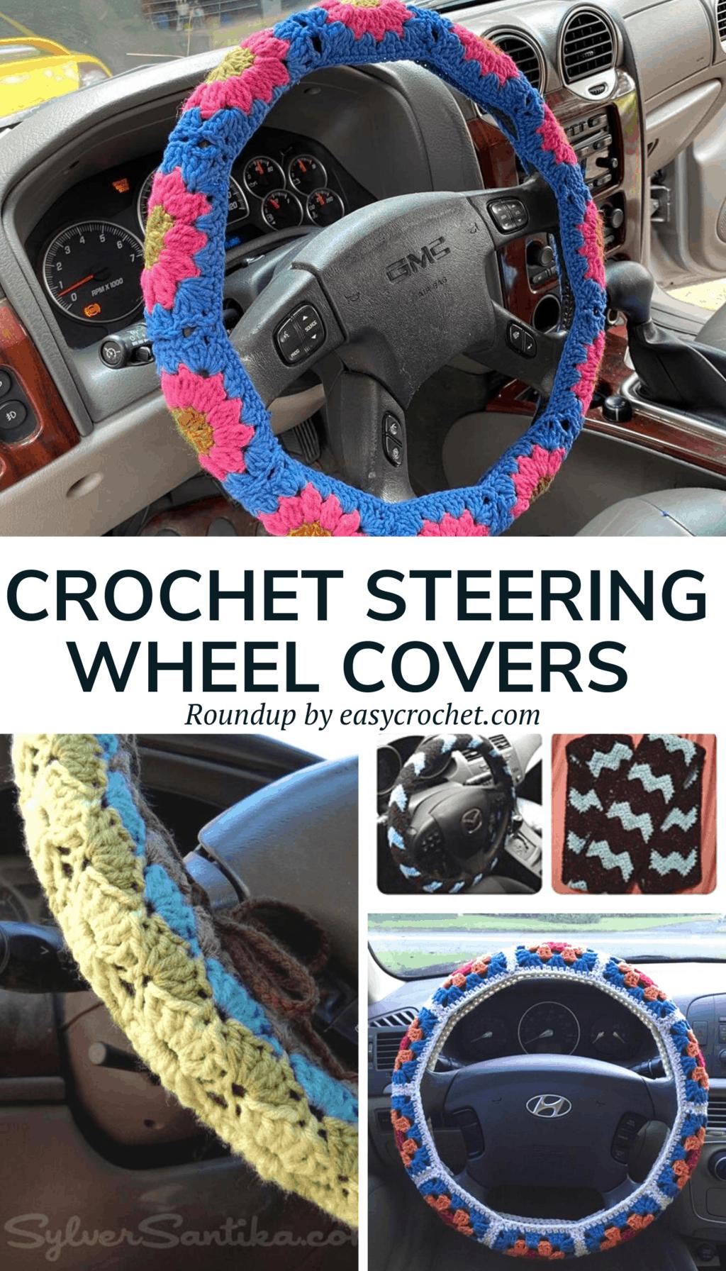 Crochet Steering Wheel Cover Patterns