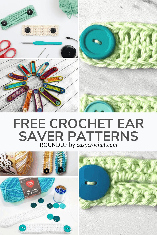 Crochet Ear Savers Patterns