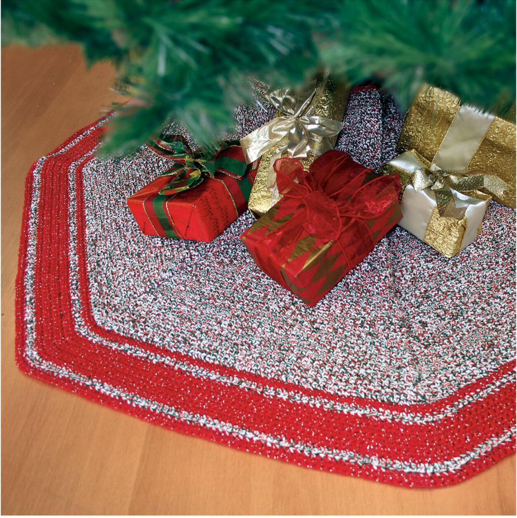 Crochet Christmas Tree Skirt Patterns Easycrochet Com