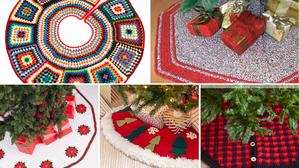 Crochet Tree Skirt Pattern Roundup