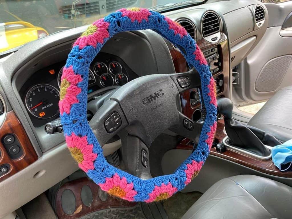 Easy Crochet Steering Wheel Covers Easycrochet Com