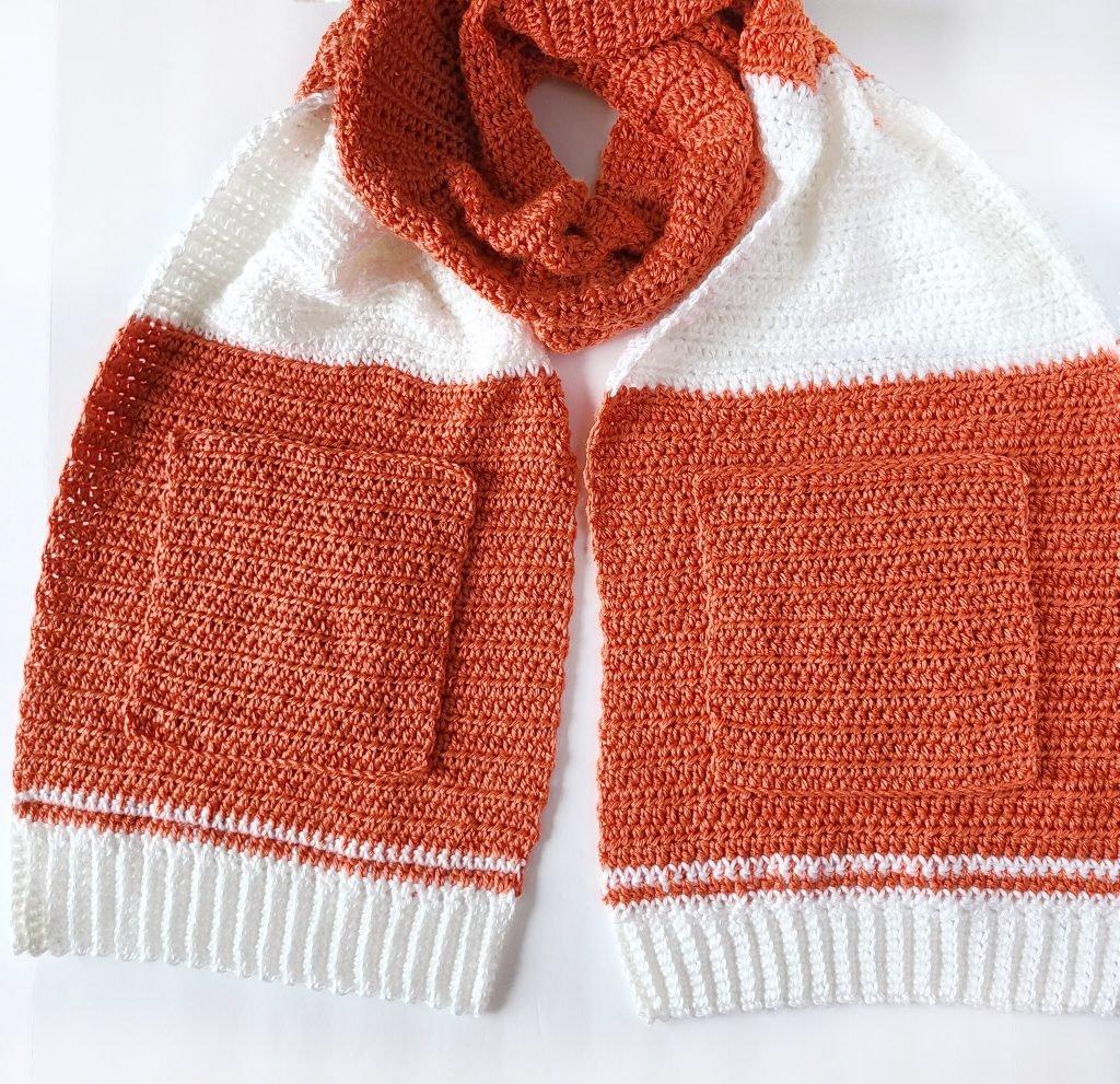 Pocket scarf pattern