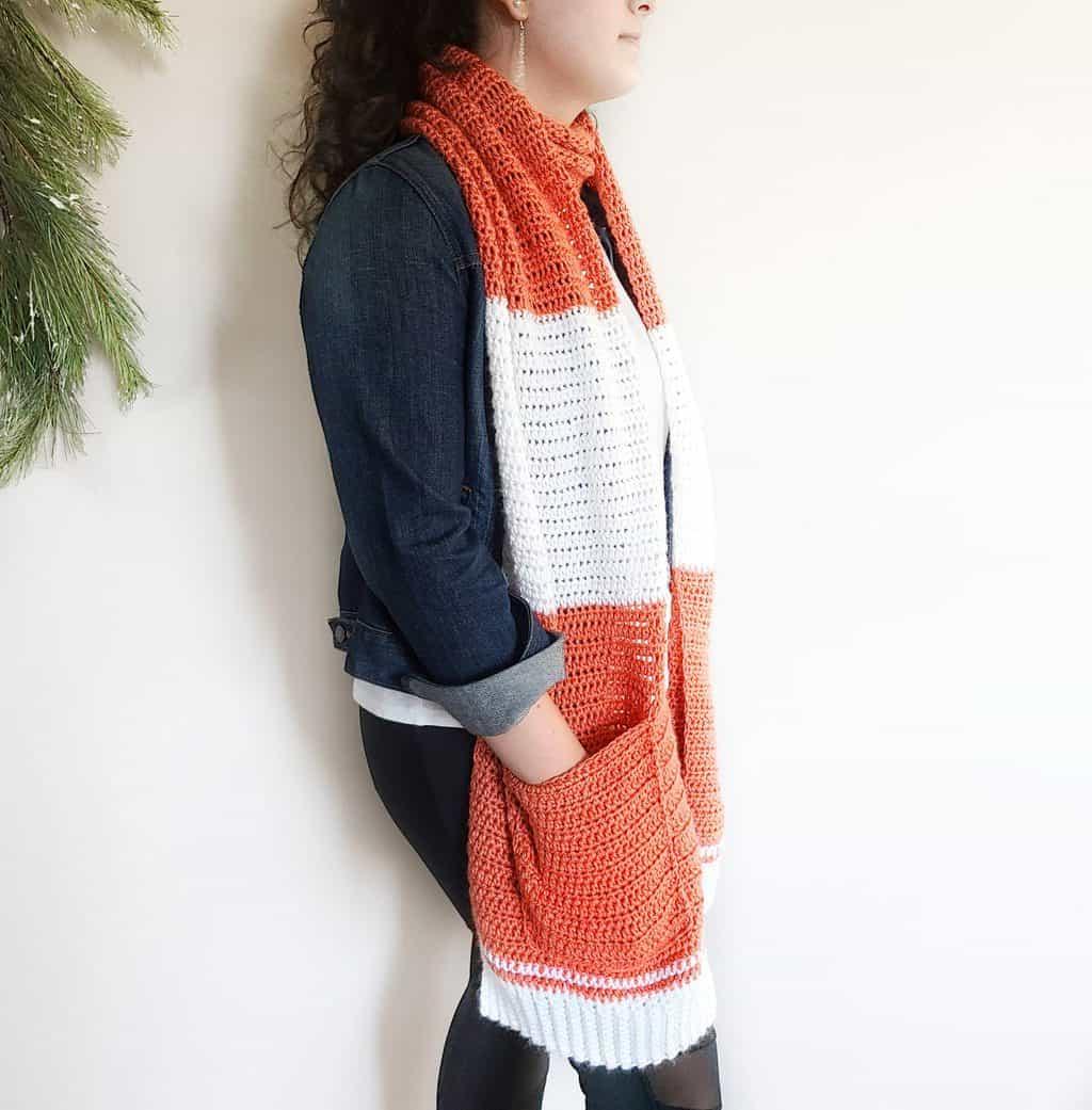 free pocket shawl pattern