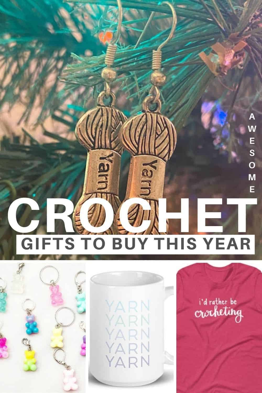 Gifts for crocheters via @easycrochetcom
