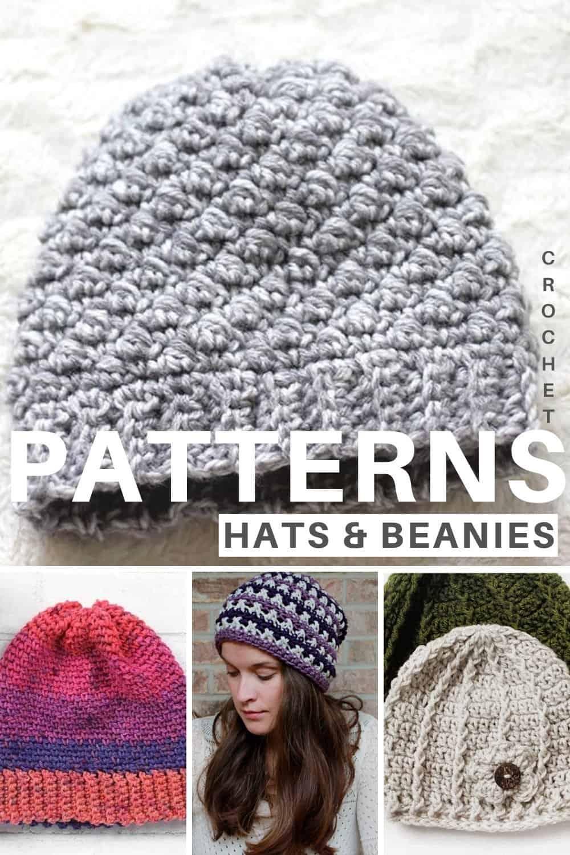 Free Crochet hat & beanie patterns