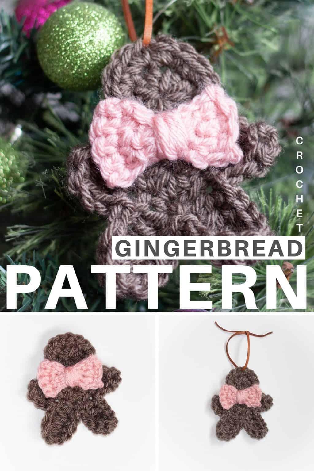 Crochet Gingerbread Man Pattern