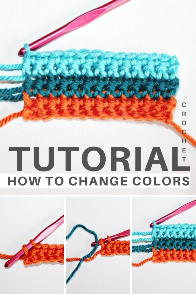 How to easily change yarn colors in crochet patterns