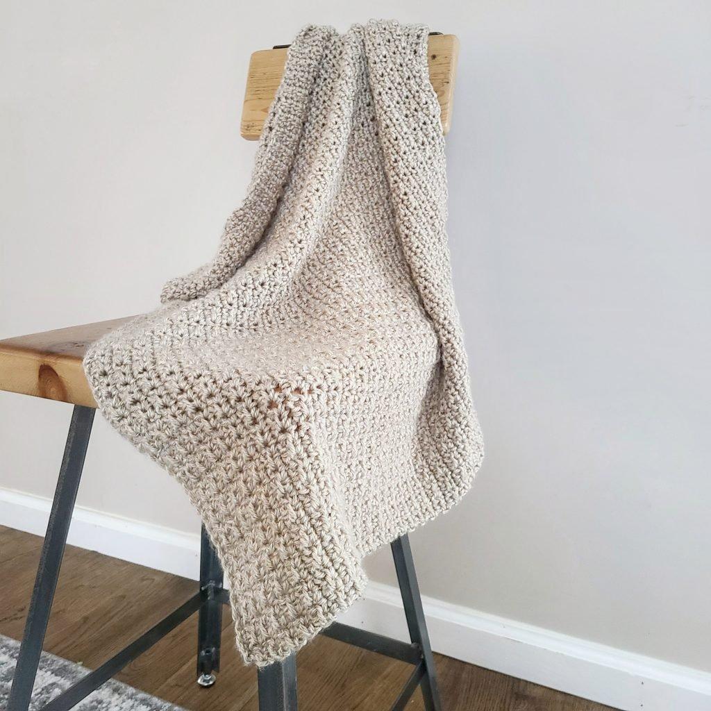 Finley Crochet Baby Blanket Pattern