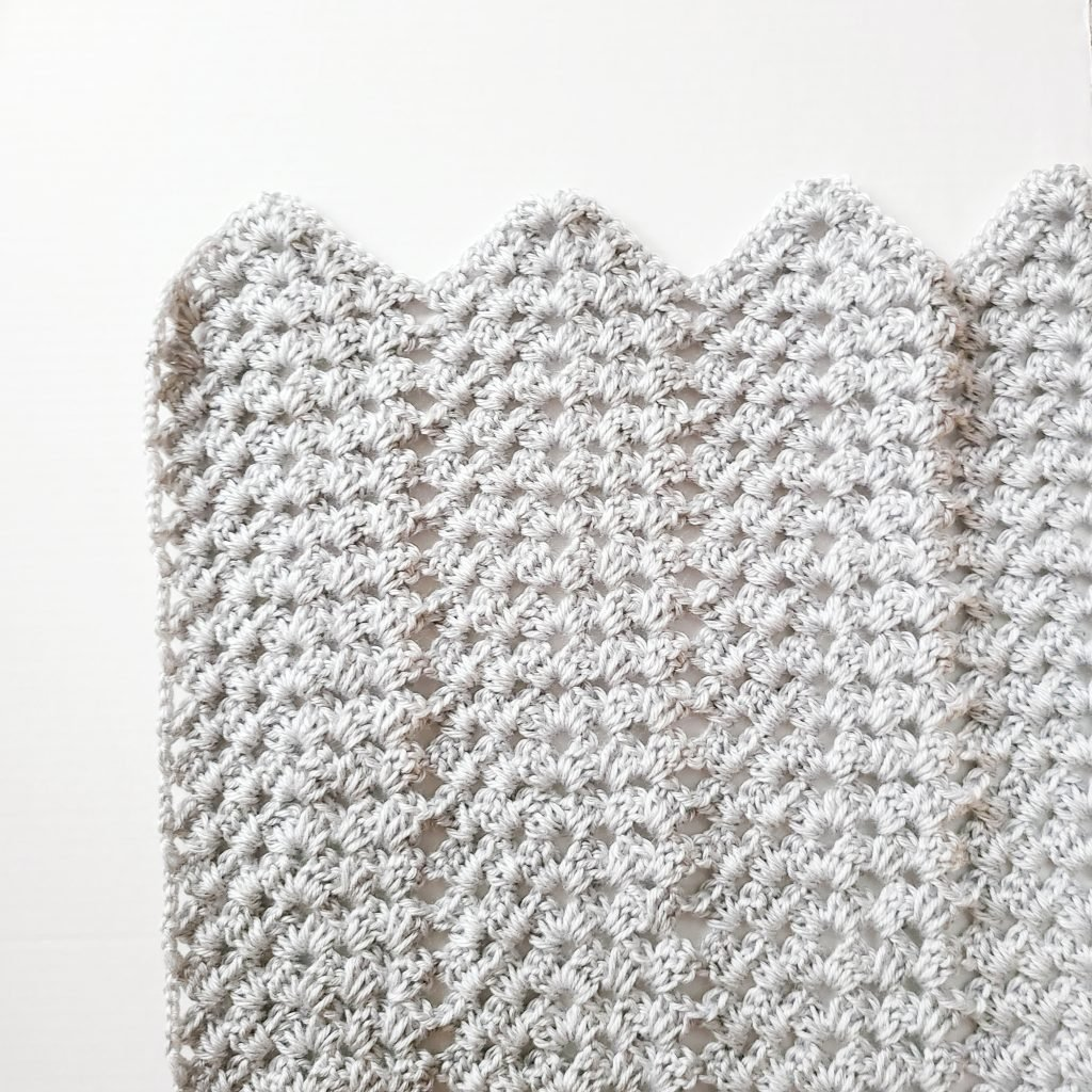easy granny ripple crochet pattern