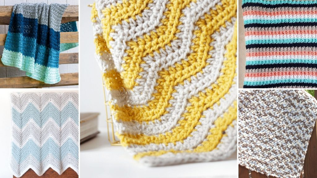 Easy Free Crochet Baby Blanket Patterns Easycrochet Com
