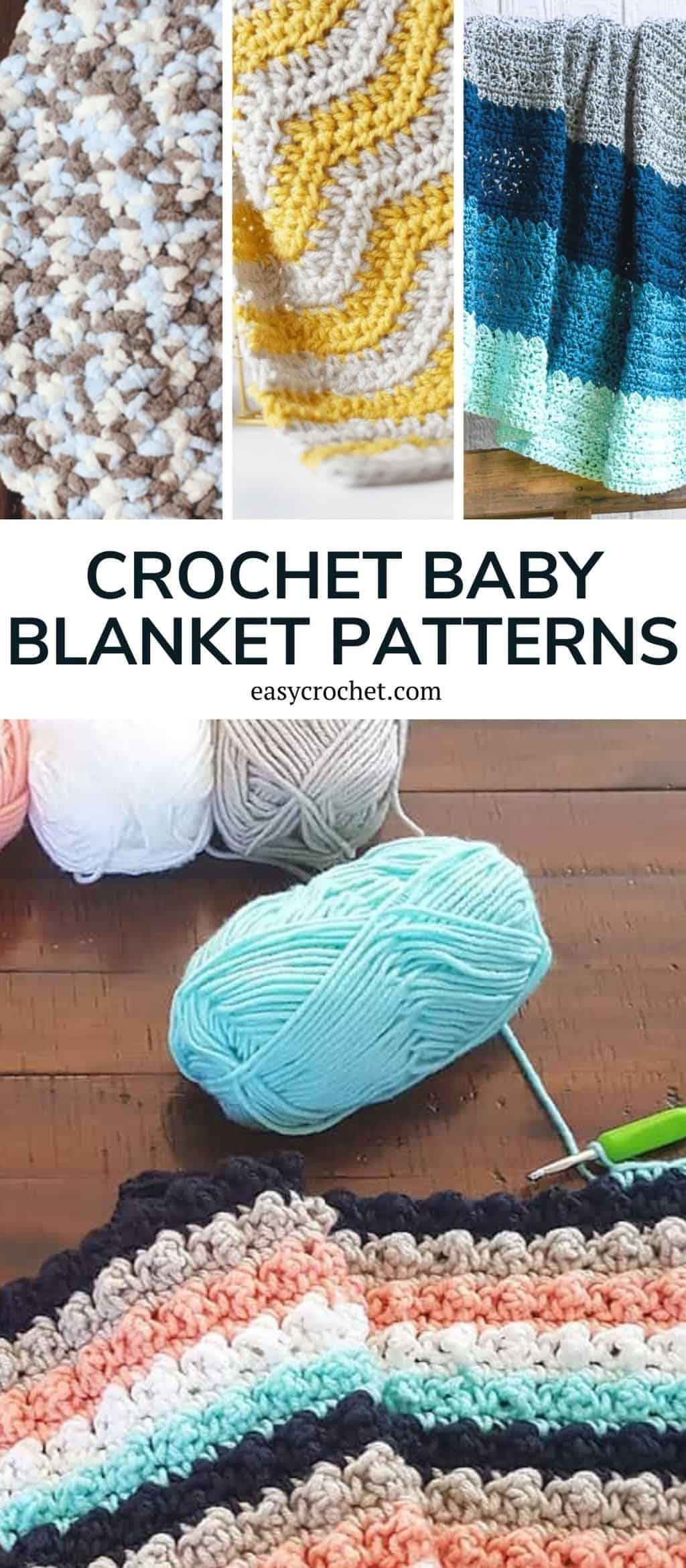 beginner-friendly crochet baby blankets