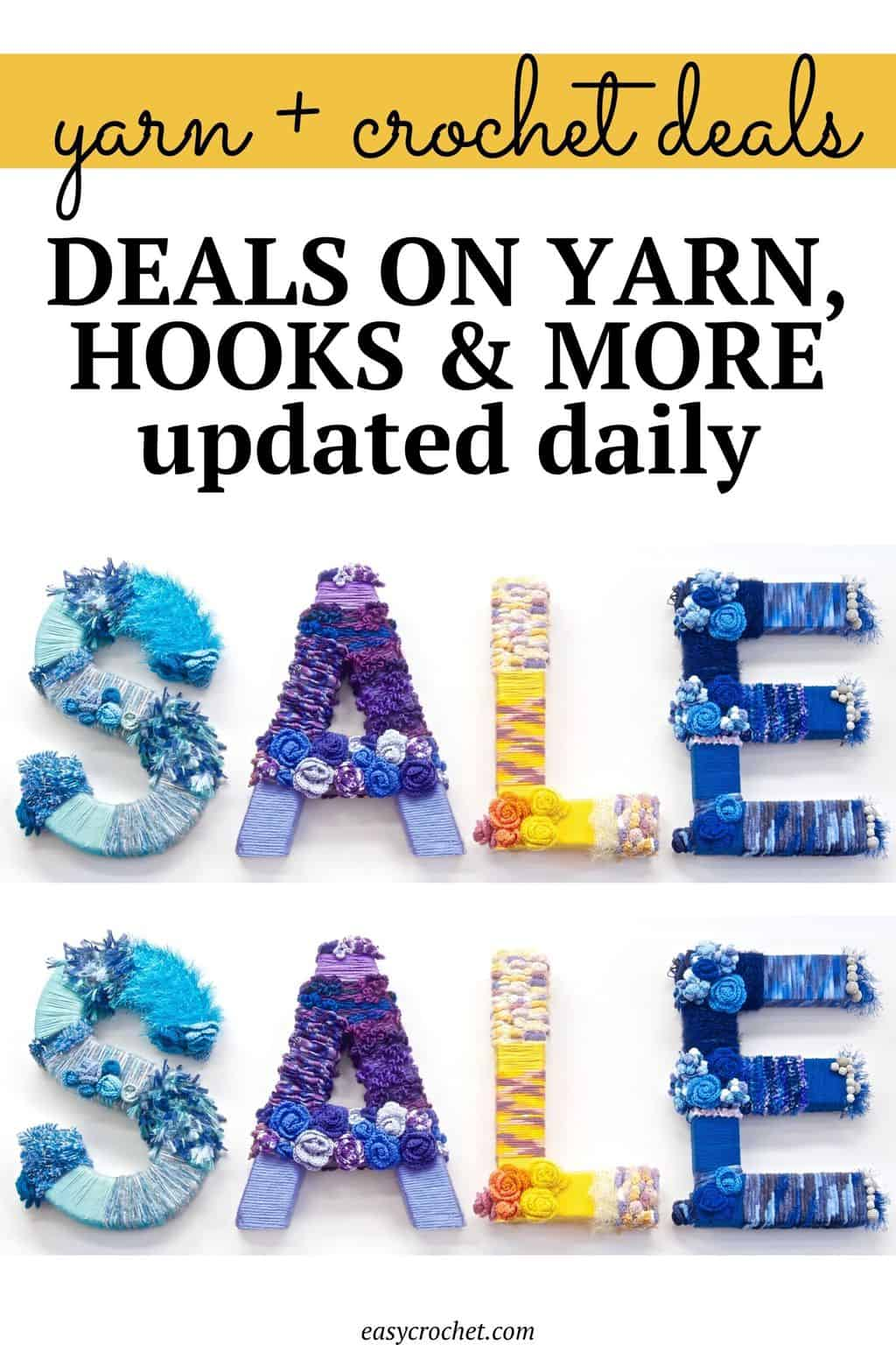 daily yarn deals