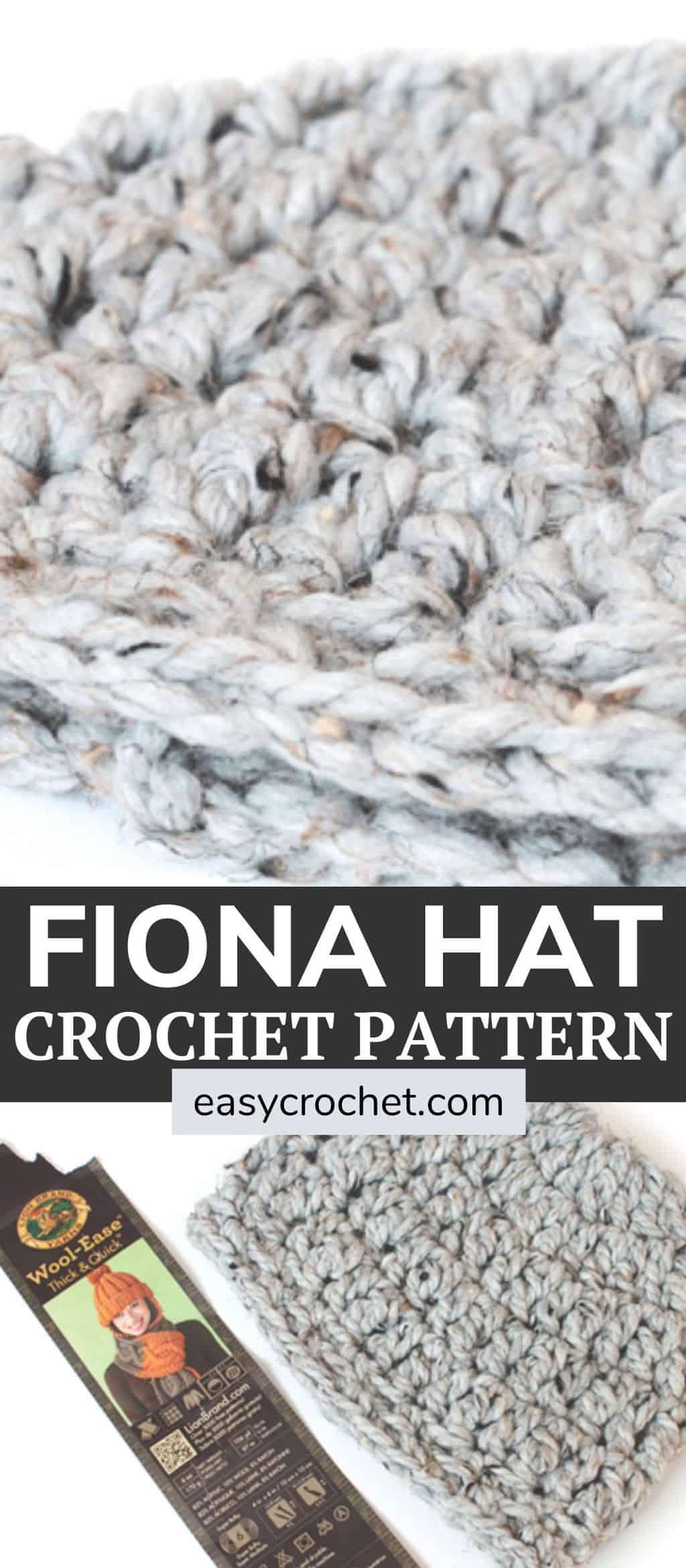 Older Child Crochet Hat Pattern